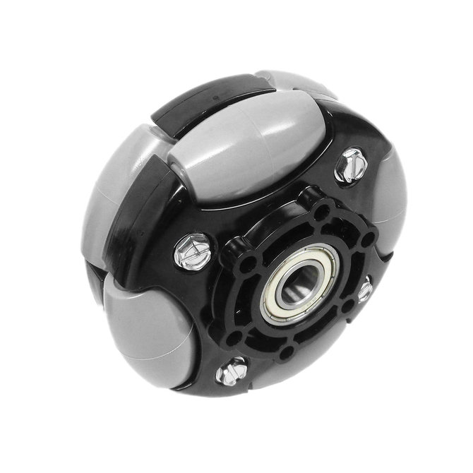 4 in. DuraOmni Wheel w/ 1/2 in. Bearings