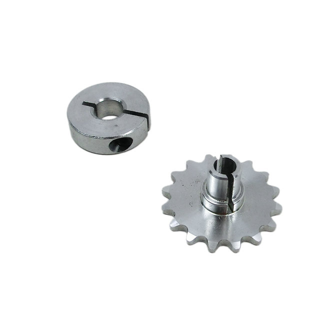 S25-16T 6mm Bore Aluminum Sprocket