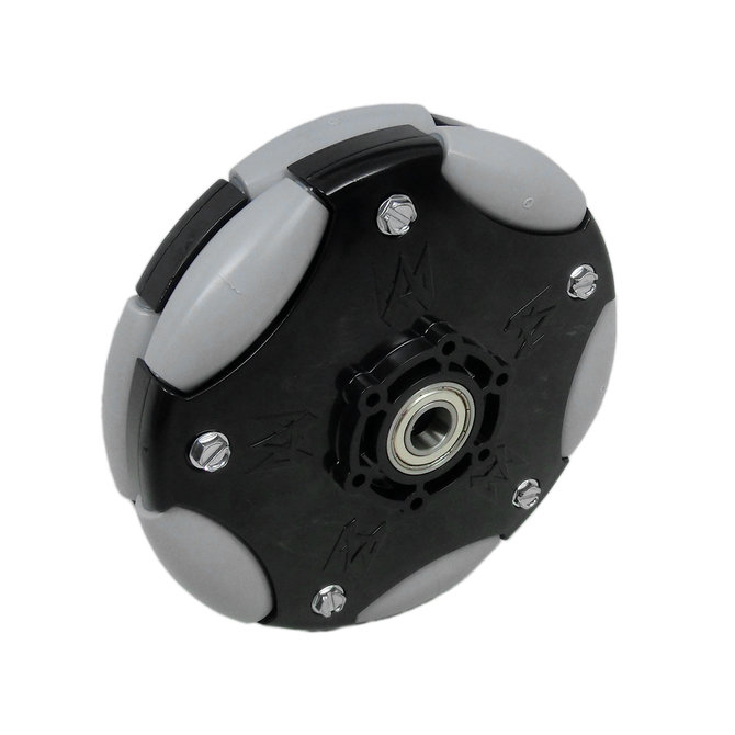 6 in. DuraOmni Wheel with 1/2 in. Bearings