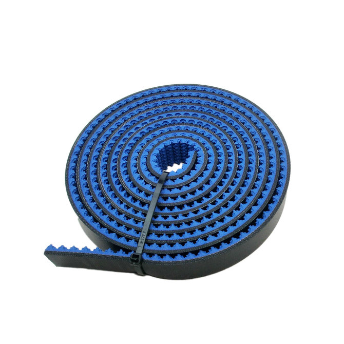 10 ft. of Blue Nitrile Roughtop Tread, 1 in. Wide