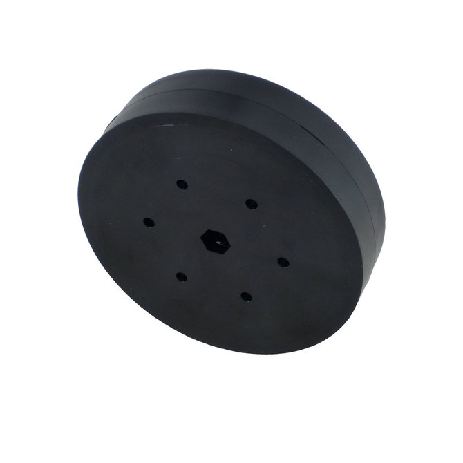 4 in. Stealth Wheel, 3/8 in. Hex Bore, 60A Durometer