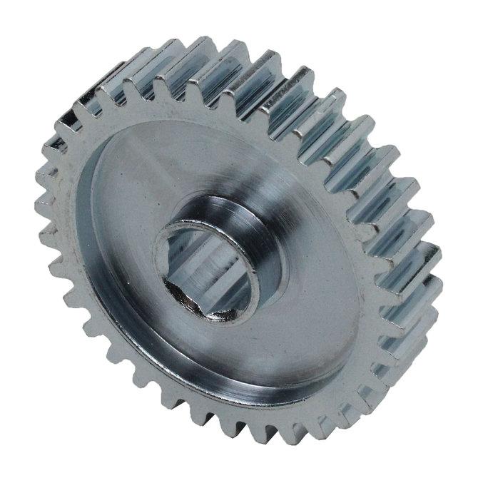 34 Tooth 20 DP 0.375 in. Hex Bore, Steel Gear