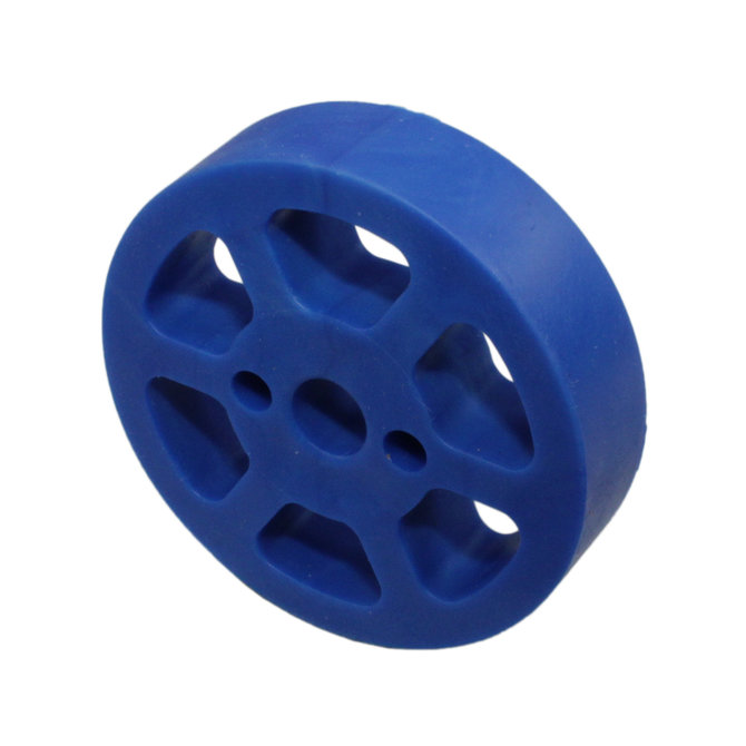 2 in. Compliant Wheel, 8mm, 50 Durometer Blue