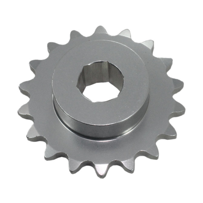 #25 18 Tooth 0.375 in. Hex Sprocket