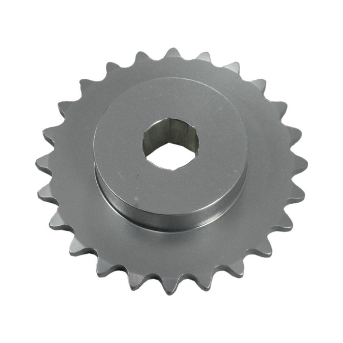 #25 24 Tooth 0.375 in. Hex Sprocket