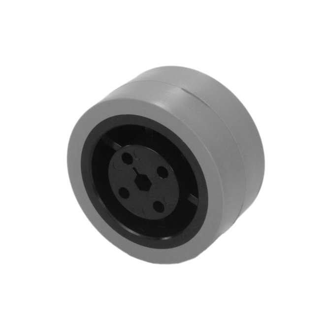 2 in. Stealth Wheel 5mm Hex, Gray, 80 Durometer