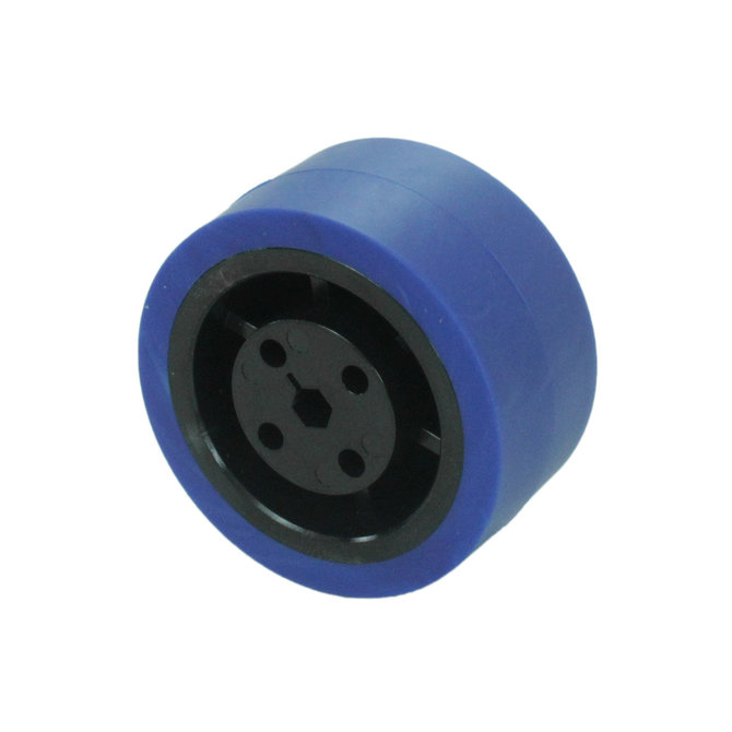 2 in. Stealth Wheel 5mm Hex, Blue, 50 Durometer