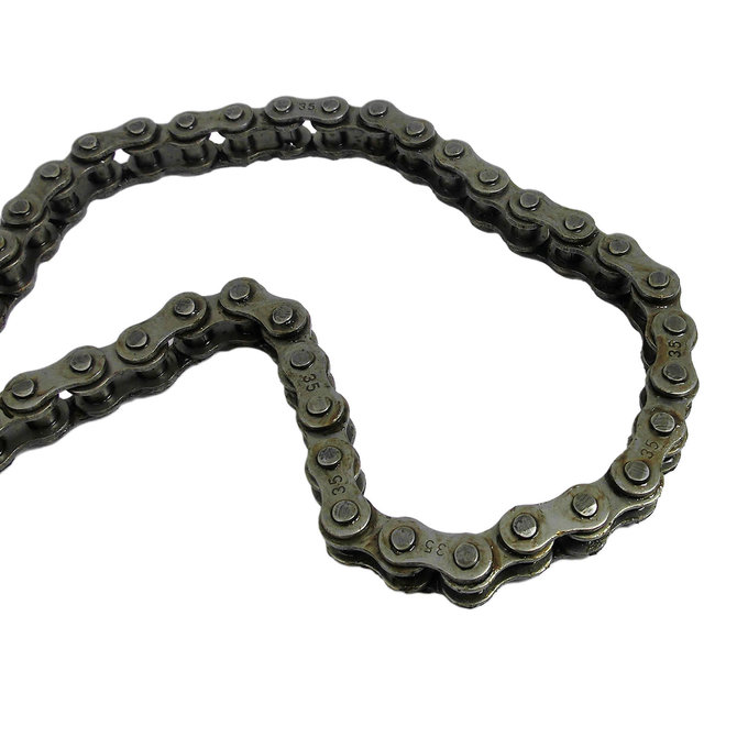 #35 Single Strand-Riveted Roller Chain, 10'