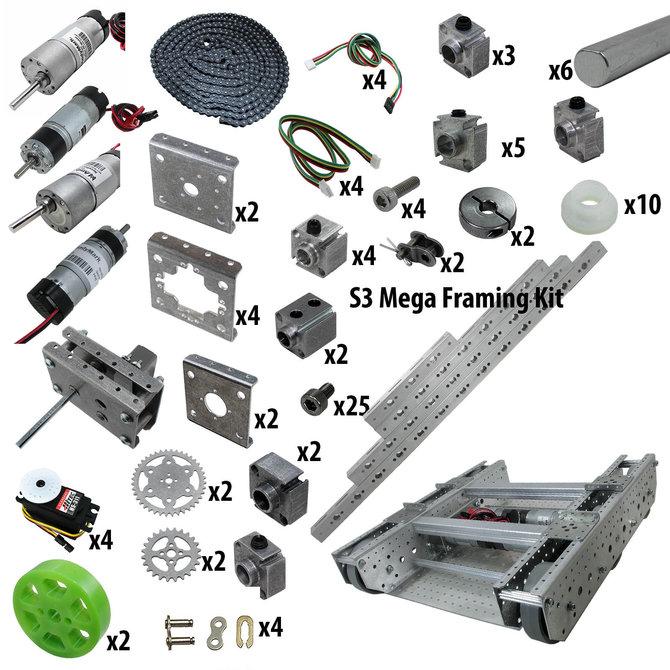 FTC Starter Kit with 6WD TileRunner and S3 Mega Kit