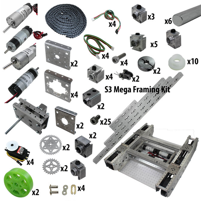FTC Starter Kit with GTO Tile and S3 Mega Kit