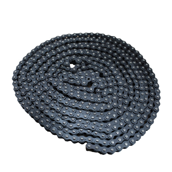 #25 Single Strand-Riveted Roller Chain, 10'