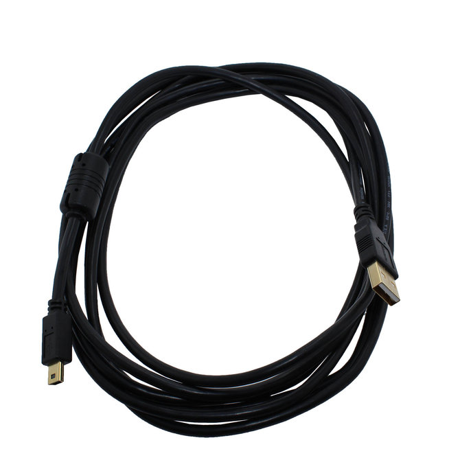 USB A to Mini 2.0 Cable 6 Ft Long