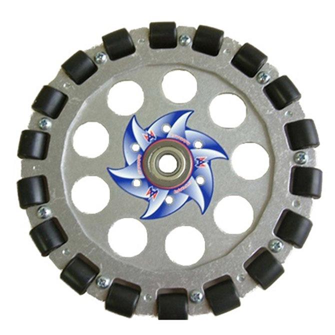 8 in. Aluminum Omni Wheel w/ 1/2 in. Bearing