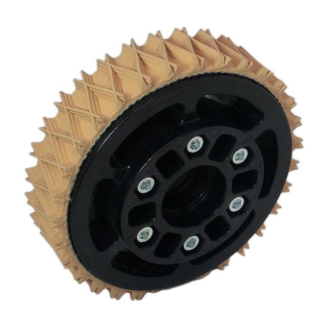 4 in. Plaction Wheel w/ Wedgetop Tread