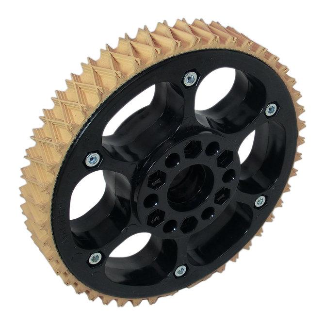 6 in. Plaction Wheel w/ Wedgetop Tread