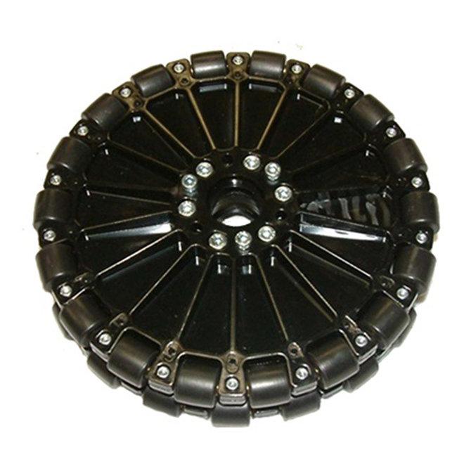 8 in. Dualie Plastic Omni Wheel