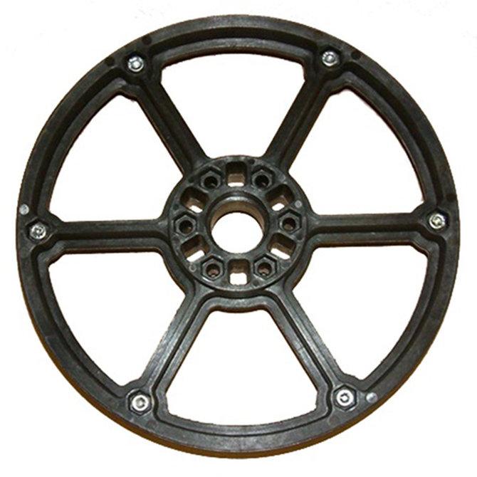 8 in. Plaction Wheel