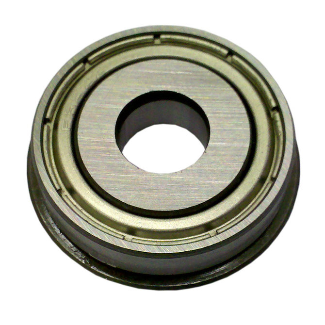 3/8 in. id, 1-1/8 od, flanged ball bearing