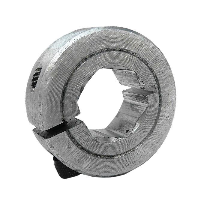 Collar Clamp, 1/2 in. Hex Bore, Aluminum