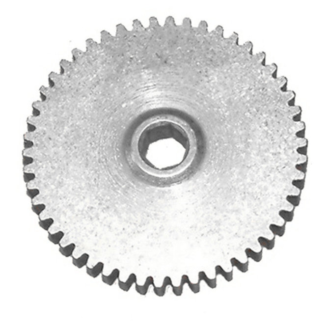 50T 20DP 0.375 in. Hex Bore, Steel Gear