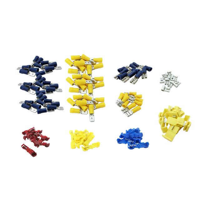 Connector Kit, 130pcs, variety bundle