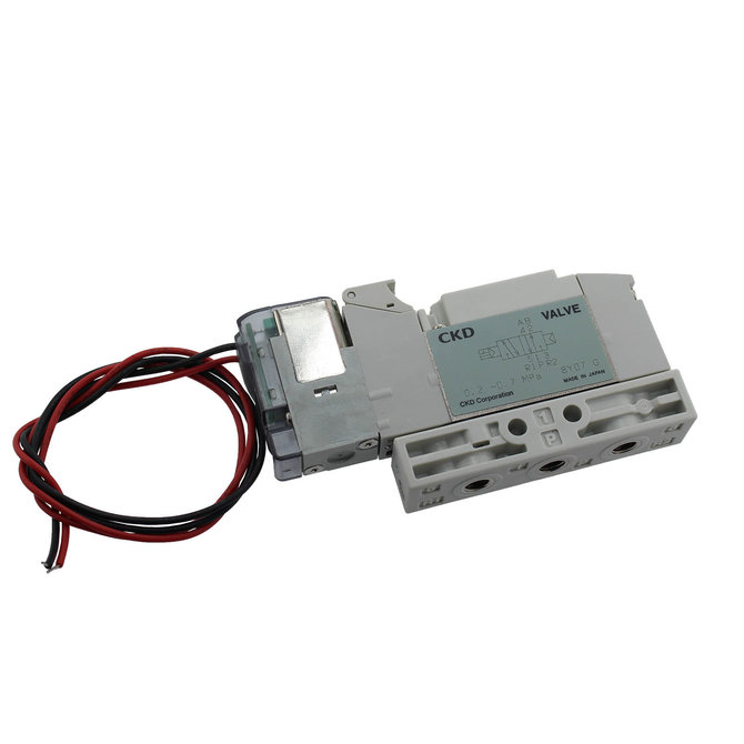 CKD Single Solenoid Valve with Fixed Wires